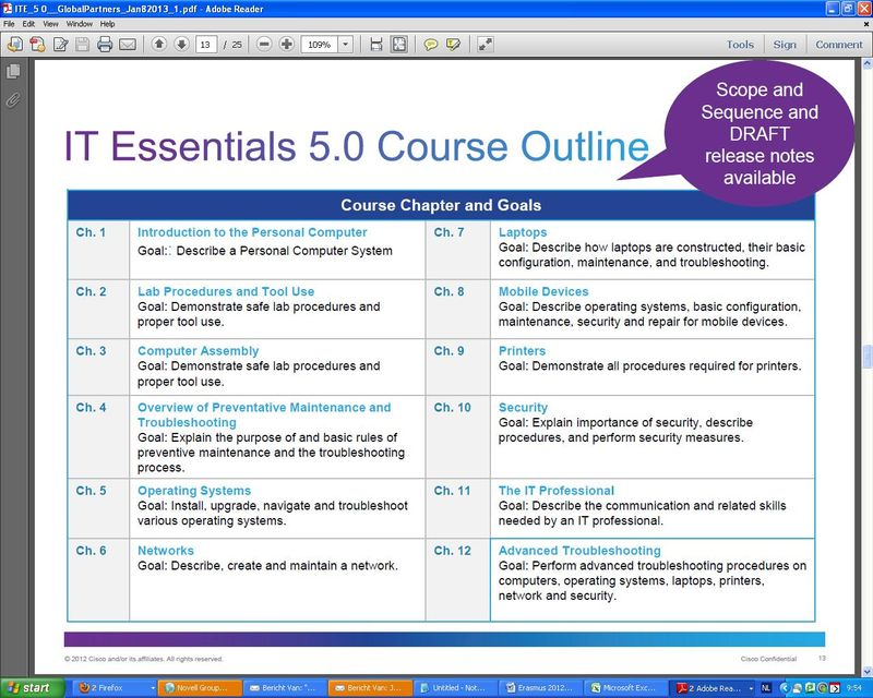 ITE5 Course OUtline
