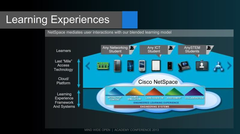 Netspace Learning Experience