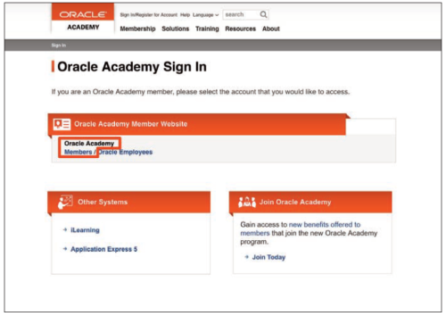 Oracleacadlogin