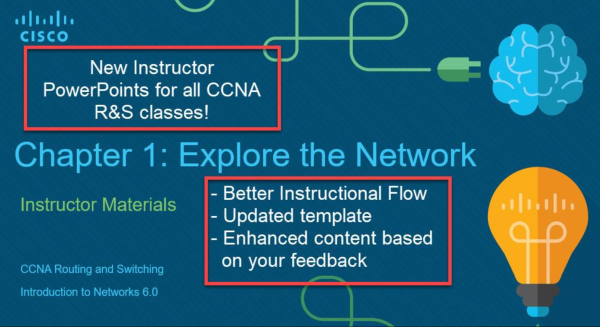 New CCNA R&S Instructor PowerPoint (PPT) slides - vzw BiASC asbl