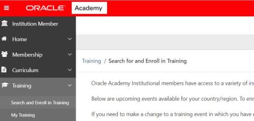Oracle-self-enroll