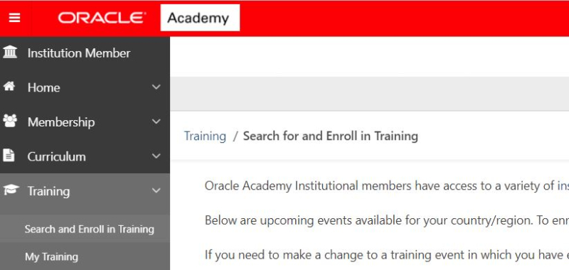 Oracle-self-enroll