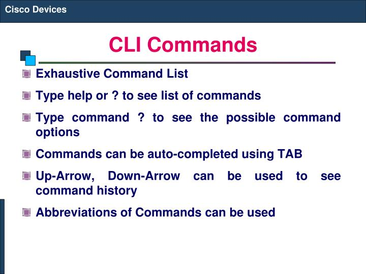 Cli-commands-n